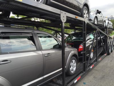 expedited auto shipping