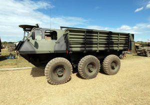 Army Declares War on Armored Dump Truck