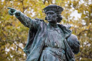 Christopher Columbus Statue Toppled – Thrown In River