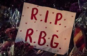 Ruth Bader Ginsburg memorial vigil held in Baltimore